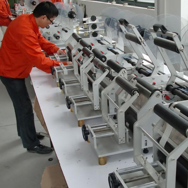 Omron etiqueta stock ojo eléctrico máquina automática de etiquetado cosméticos etiquetado de viales