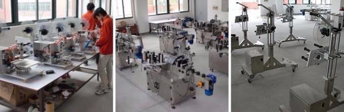 Pequeña máquina de etiquetado de botellas plásticas ENORMES, máquina de etiquetas autoadhesivas de botellas de penicilina
