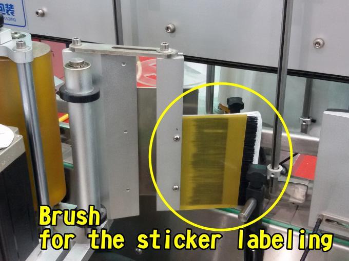 Etiquetadora automática de superficie plana para fábrica de bolsos de alta velocidad 60-350 PC / minuto