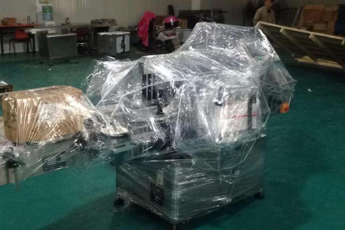 Máquina de etiquetado de viales de Opp de aleación de aluminio para botellas redondas, etiquetadora industrial