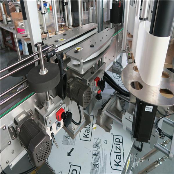 Capacidad de la maquinaria 4000-8000 B / H del etiquetado de la botella cuadrada automática llena