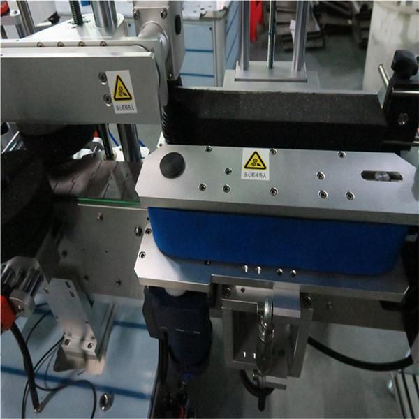 Máquina etiquetadora diaria de botellas delanteras y traseras, máquina etiquetadora de tarros