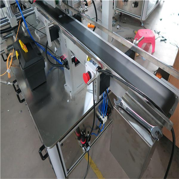 Máquina de etiquetado de botellas cuadradas completamente automática envolvente para 3000-5000B / H