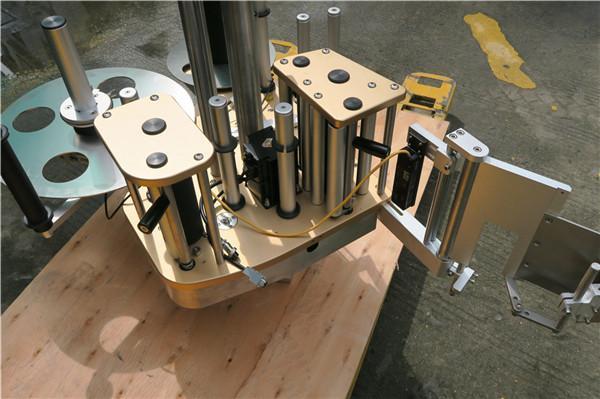 Etiquetadora rotativa de alta velocidad con función de rotación