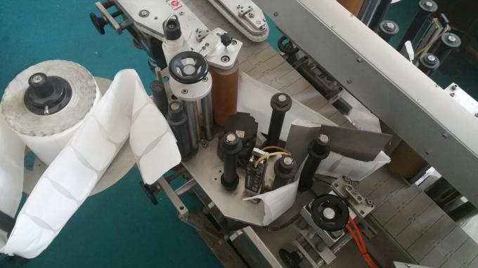 Aplicador de etiquetas autoadhesivas ovaladas para bolsas y botellas, impresora de etiquetas autoadhesiva con transportador largo