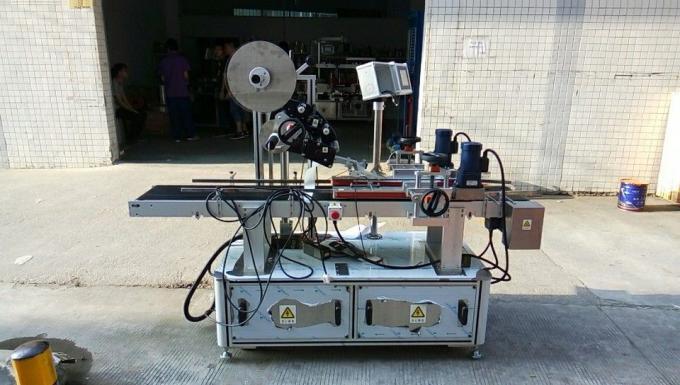 Máquina de etiquetado superior de 1500 W / Equipo de aplicación de etiquetas para tapas, cajas, revistas, cartón