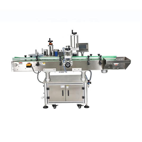 Máquina aplicadora de adhesivo de botella cuadrada de tarro de 25 kg