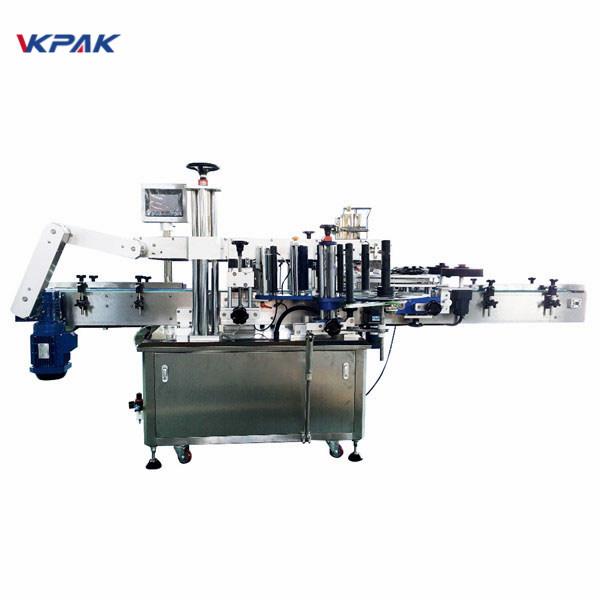 Máquina aplicadora automática de etiquetas adhesivas redondas de 350 ml