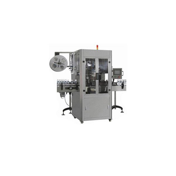 Máquina aplicadora de manga retráctil de botella de agua de 5 galones para botella grande redonda