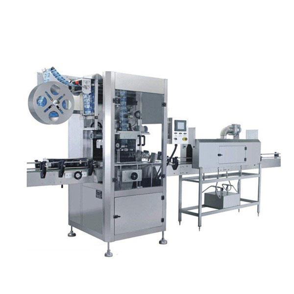 Máquina de etiquetado de manga retráctil de tazas de 5,5 KW