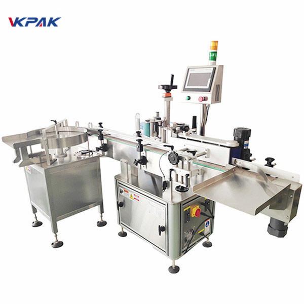 Máquina aplicadora automática de etiquetas adhesivas sensibles a la presión