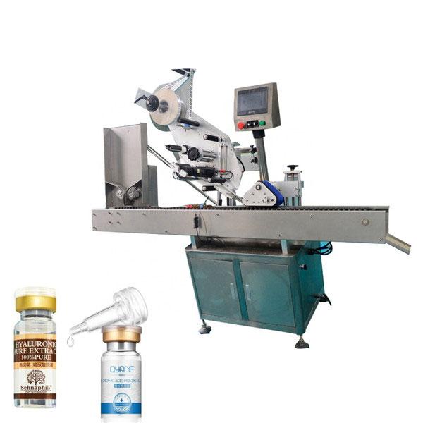Etiquetadora industrial del frasco de Opp de la aleación de aluminio para la botella redonda