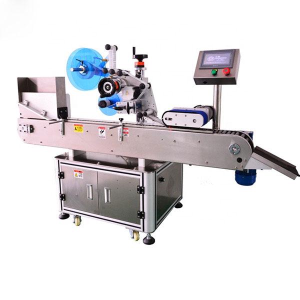 Máxima calidad automática de la máquina etiquetadora de botellas para la botella de líquido E