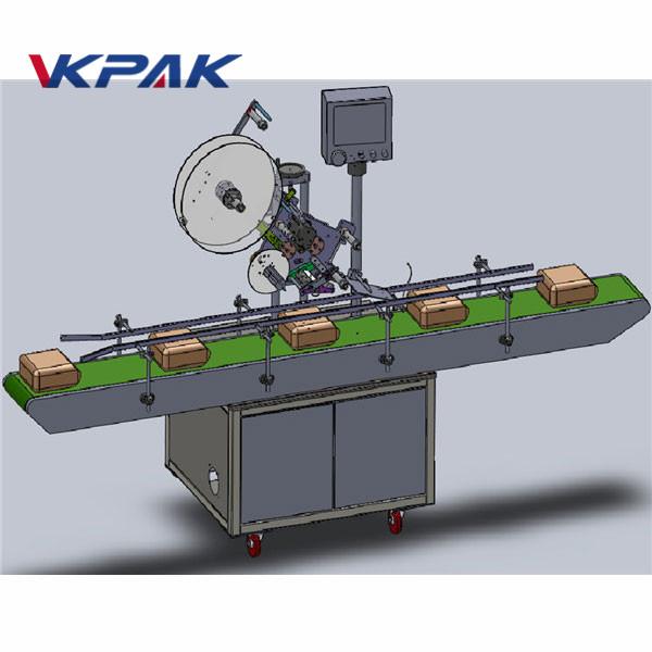 Máquina de etiquetado superior de alimentación automática