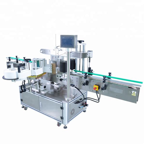 Máquina aplicadora de etiquetas automática modificada para requisitos particulares para botella de detergente redonda