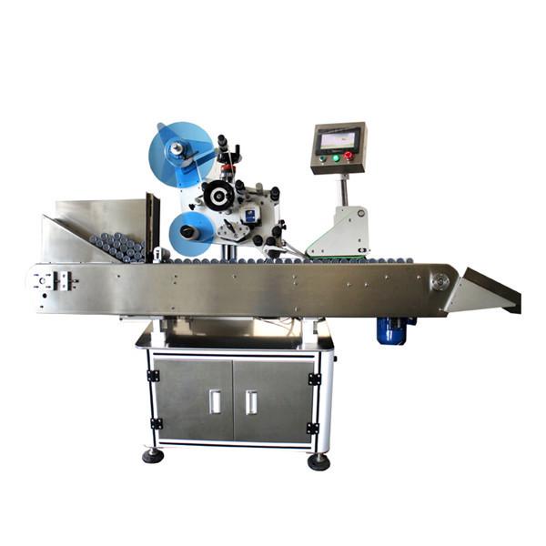 Máquina de etiquetado de etiquetas adhesivas de viales de botellas industriales de alta velocidad