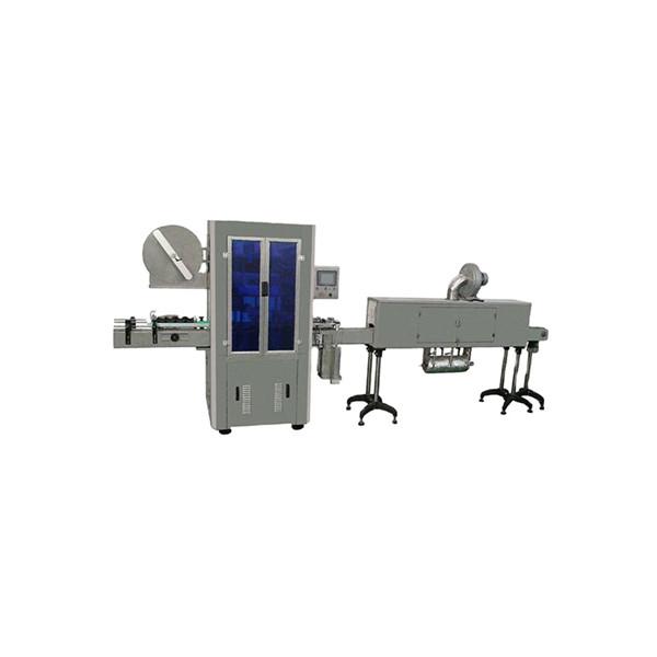 Máquina de etiquetado de manga termoencogible para botellas de agua mineral