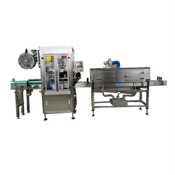 Máquina aplicadora de fundas termoencogibles de acero inoxidable OPS para botellas