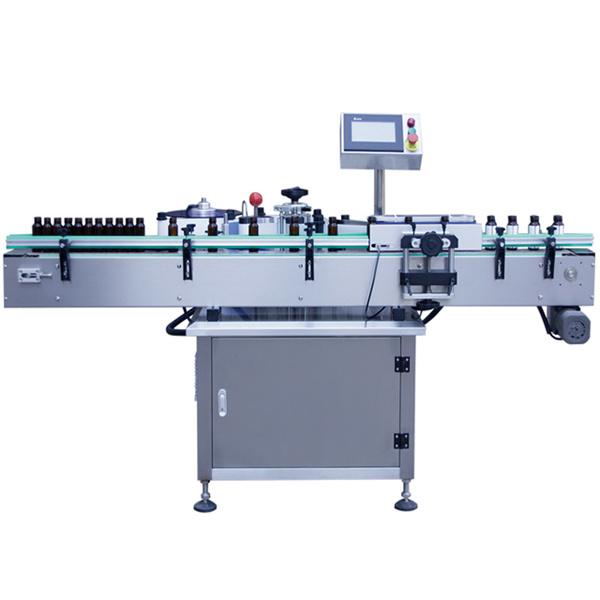 Máquina etiquetadora automática de control PLC