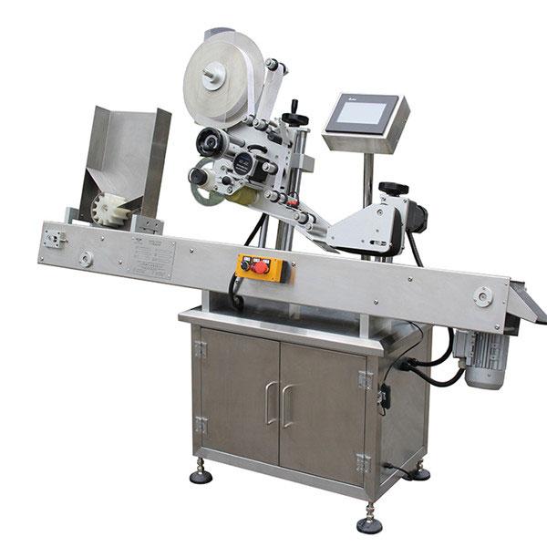 Máquina aplicadora de etiquetas de control de pantalla táctil PLC