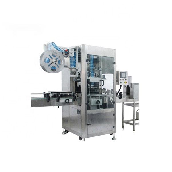 Máquina aplicadora de manga retráctil de PVC Máquina de etiquetado retráctil completamente automática