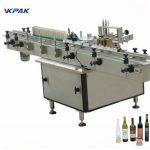 Máquina del aplicador de la etiqueta de la pasta y del pegamento frío para diversas botellas automático