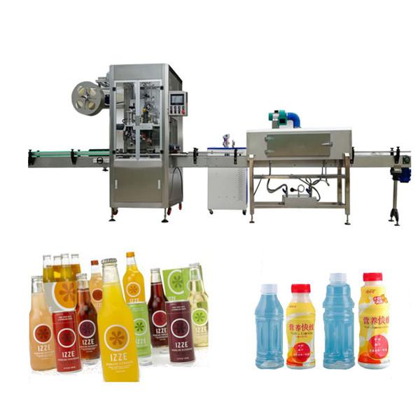 Máquina de etiquetado de manga retráctil para botellas de mascotas con túnel retráctil