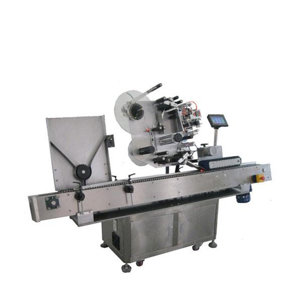 Máquina etiquetadora de etiquetas adhesivas para viales de la industria farmacéutica