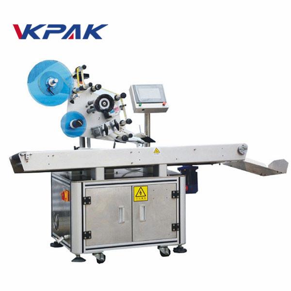 Máquina aplicadora de etiquetas de superficie plana con bolsa de polietileno