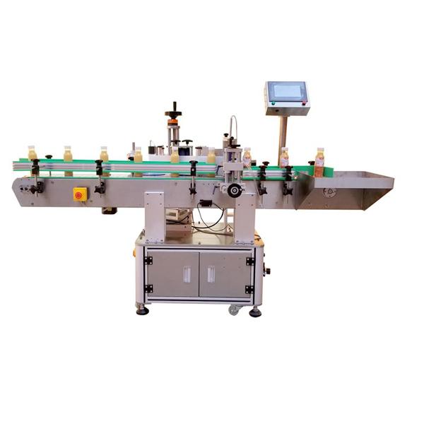 Máquina etiquetadora profesional de etiquetas adhesivas para botellas