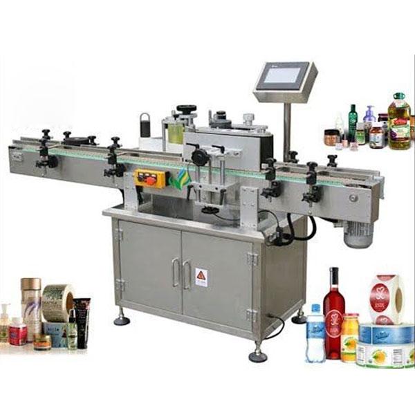 Maquinaria de etiquetado de botellas redondas, aplicador de etiquetas envolventes
