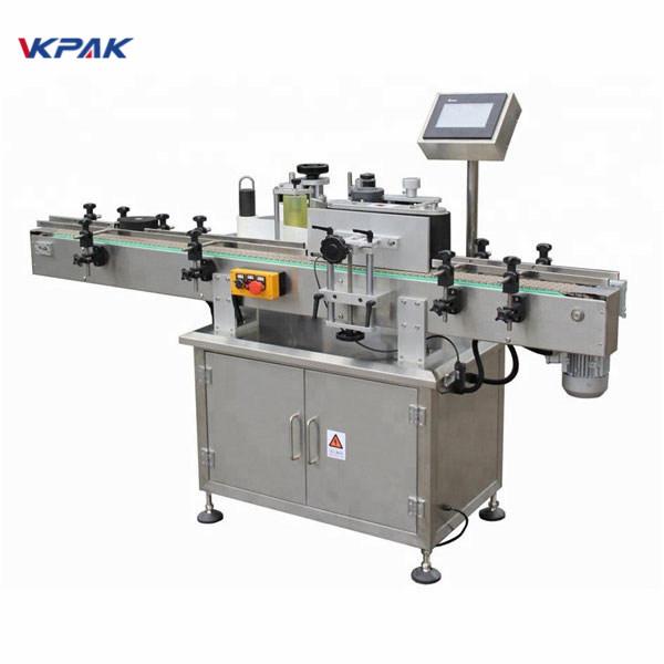Máquina aplicadora de etiquetas autoadhesivas para etiqueta adhesiva de alta velocidad de tarro