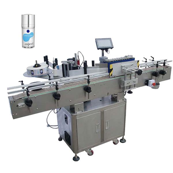 Máquina etiquetadora autoadhesiva para ronda