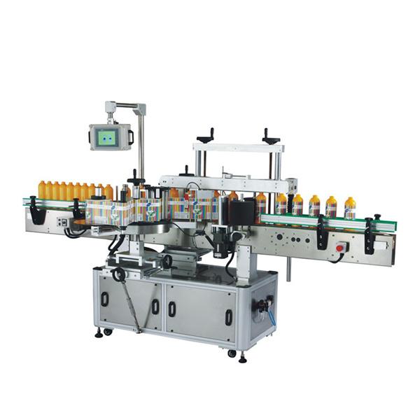 Máquina de etiquetado autoadhesivo frontal y posterior