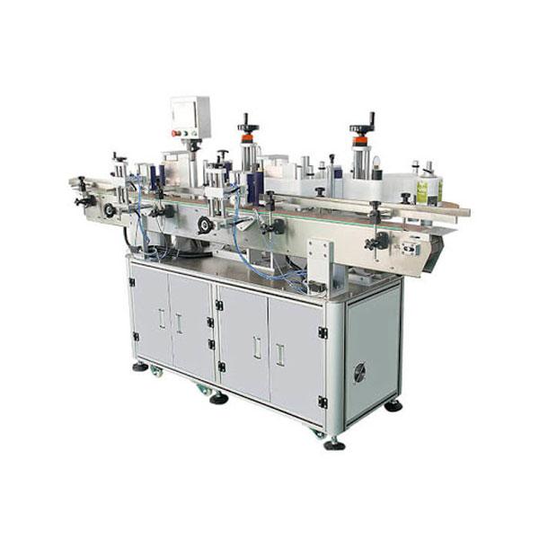 Máquina de etiquetado cosmética de la etiqueta engomada de la botella del champú longitud del envase de 30-100 milímetros