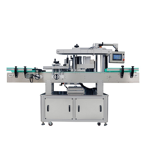 Máquina etiquetadora de etiquetas adhesivas de uno o dos lados