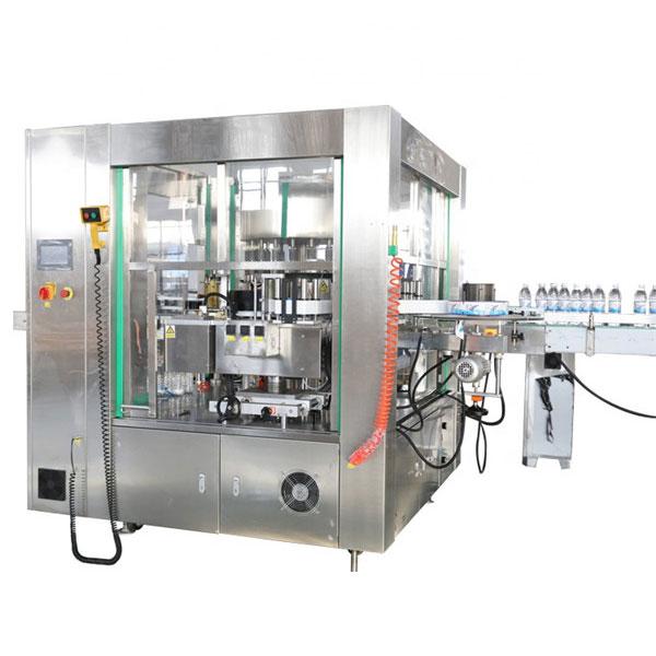 Maquinaria automática del sistema rotatorio de la máquina de etiquetado de la etiqueta engomada de la ubicación de tres caras