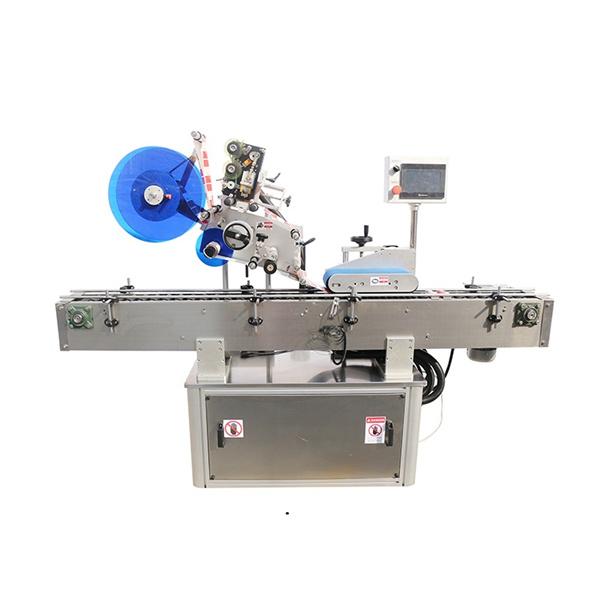 Máquina de etiquetado superior y de doble cara
