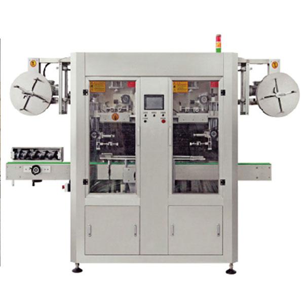 Máquina de etiquetado de mangas termoencogibles