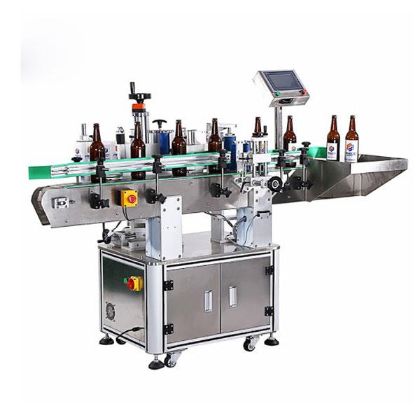 Máquina de etiquetado de botellas de vino