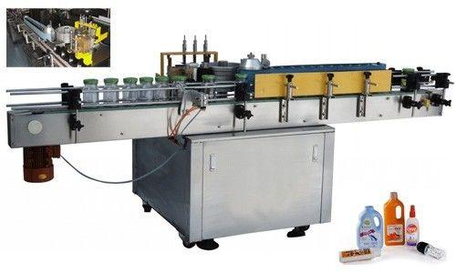 China Máquina automática aplicadora de etiquetas de pegamento frío para botella redonda Proveedor personalizado