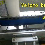 Máquina aplicadora de etiquetas adhesivas para esmalte de uñas