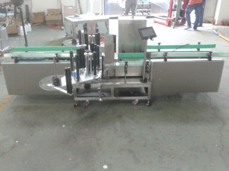 China Máquina de etiquetas automática de control inteligente PLC Siemens con proveedor de superficie de colección