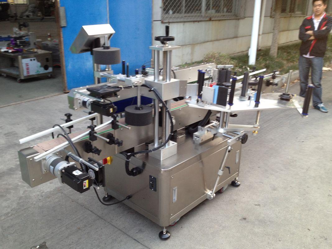 Máquina automática del aplicador de la etiqueta engomada de la botella de Opp para el pegamento de fusión en caliente de alta velocidad