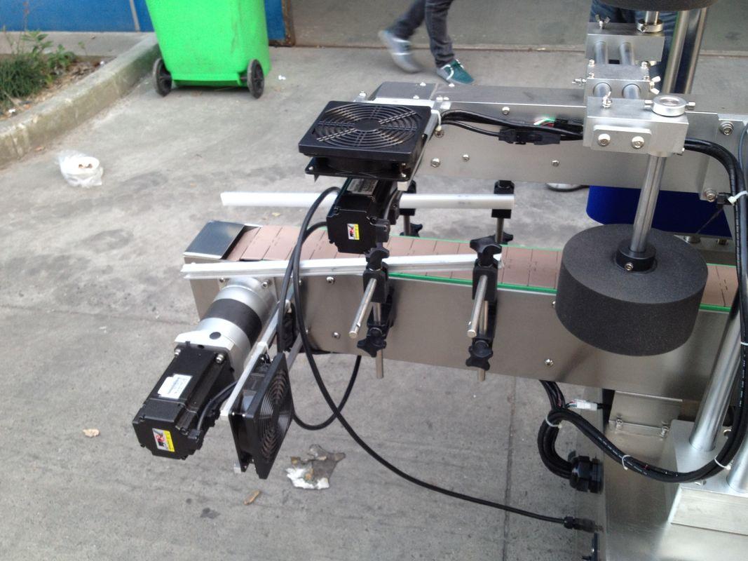 Máquina aplicadora de etiquetas de pegamento de fusión en frío / húmedo para botella redonda
