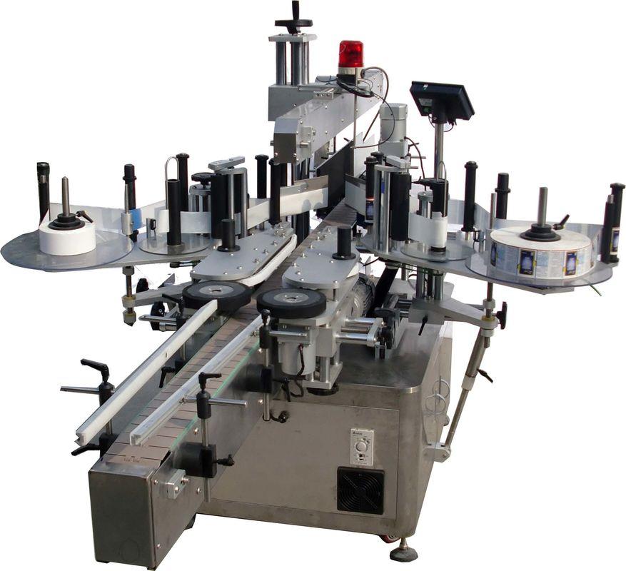 Etiquetadora automática de superficie plana para fábrica de bolsos de alta velocidad