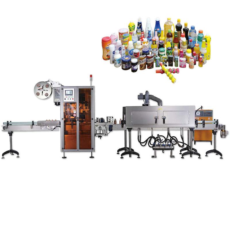 Máquinas de etiquetado por encogimiento de sellado de tapas de botella en general con una vida útil prolongada