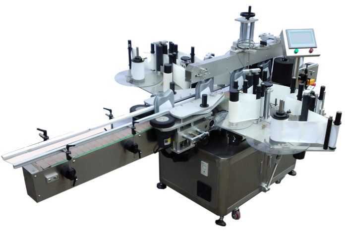 China Máquina de etiquetado de etiquetas adhesivas de doble cara económica de acero inoxidable SUS304 para etiquetado de botellas proveedor