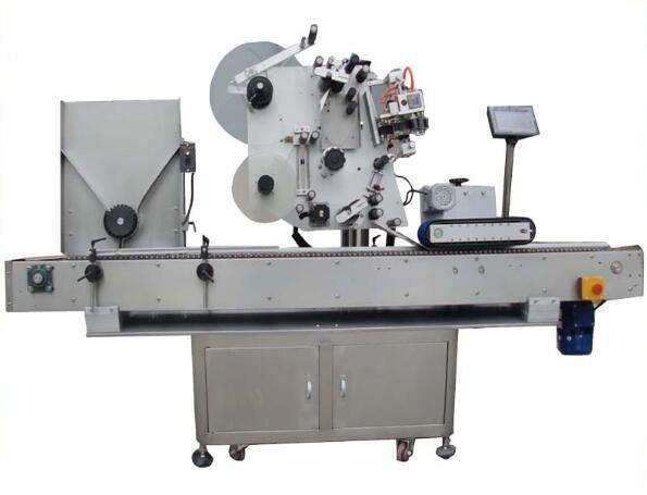 Máquina de etiquetado redonda Opp con máquina de codificación
