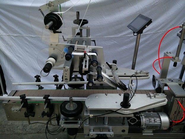 China PLC Famoso aplicador de etiquetas de superficie plana de la marca japonesa MITSUBISHI con detección de objetos proveedor de ojo mágico